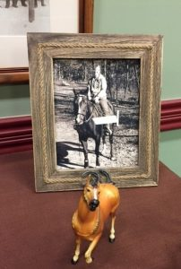 A picture of the late Paula West was on display at the scholarship awards banquet.